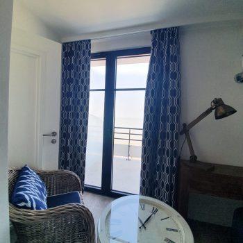 Hôtel face mer-Le Paquebot-Cabine Exclusive-Villerville-Deauville-Normandie