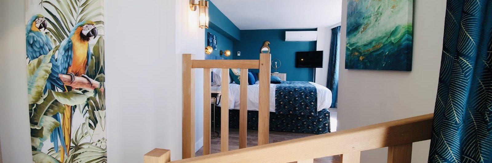 Hôtel Le Paquebot-Cabine 102-202-Villerville-Normandie
