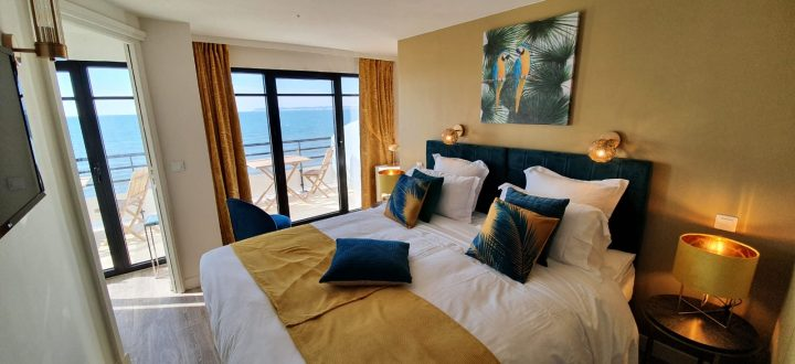 Seaside resort-Le Paquebot-Cabins 106-206-Villerville-Normandy