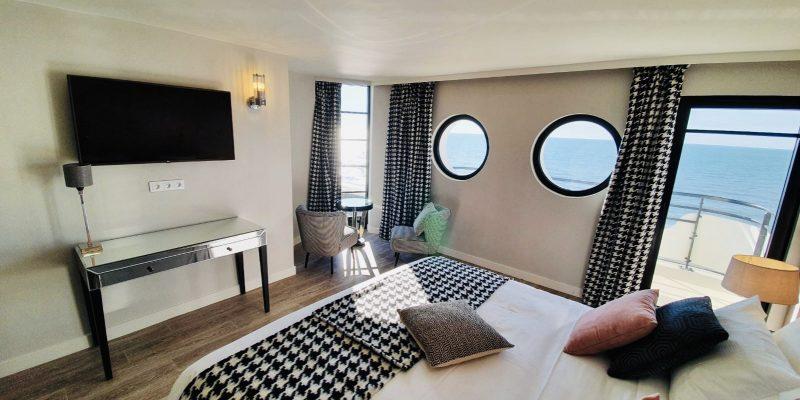 Seaside resort-Le Paquebot-Cabins 108-208-Villerville-Normandy