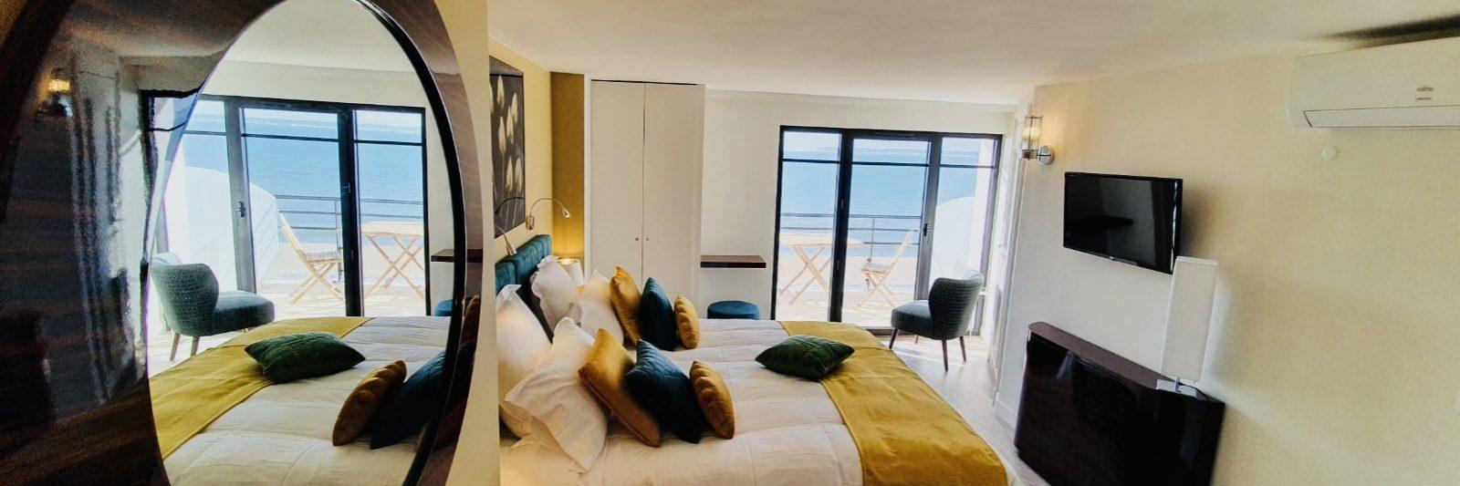 Seaside resort-Le Paquebot-Cabins 107-207-Villerville-Normandy