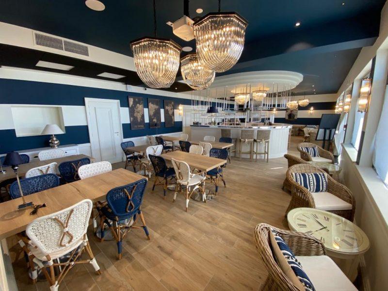 Hôtel-Le Paquebot-restaurant-bar-vue mer-Deauville-Villerville-Normandie