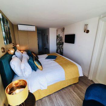 Hôtel vue mer-Le Paquebot-Cabines 106-206-vue mer-Villerville-Normandie