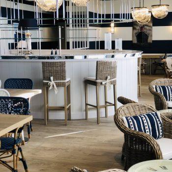 Restaurant-Le Grand Salon-Le Paquebot-Hôtel-face mer-villerville-deauville-normandie