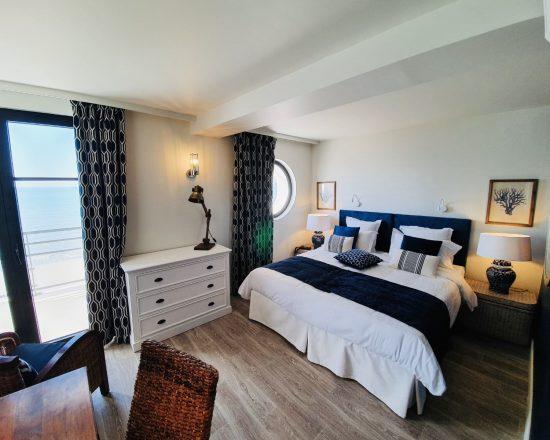 cabine exclusive-hôtel-Le Paquebot-mer-villerville-normandie