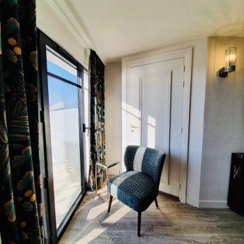 Hôtel Le Paquebot-Cabines 107-207-vue mer-Villerville-Normandie