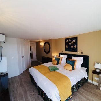 Hôtel Le Paquebot-vue mer-Cabine Privilege-Villerville-Deauville-Normandie